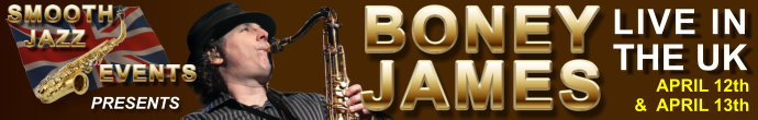 Book to see Boney James Now!